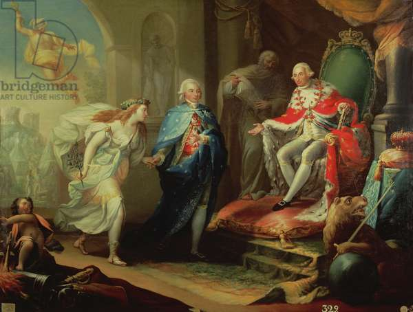 Godoy Presenting Peace to Charles IV, 1796