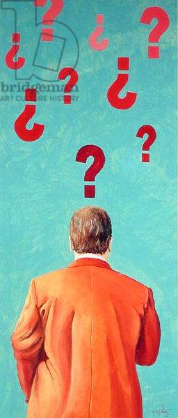 Is there anybody? 2002 (oil on canvas)