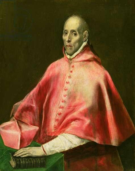 Portrait of Cardinal Juan de Tavera (oil on canvas)