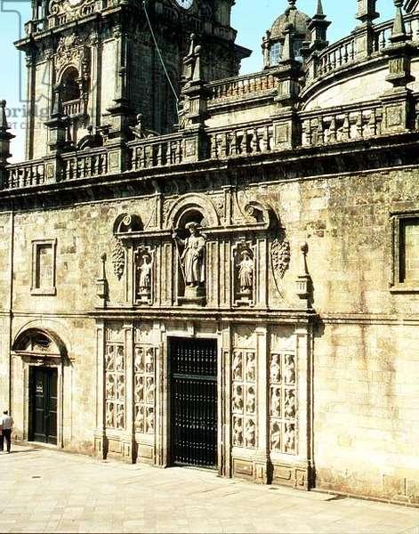View of the Portico of Mercy (Portico del Perdon) (photo)