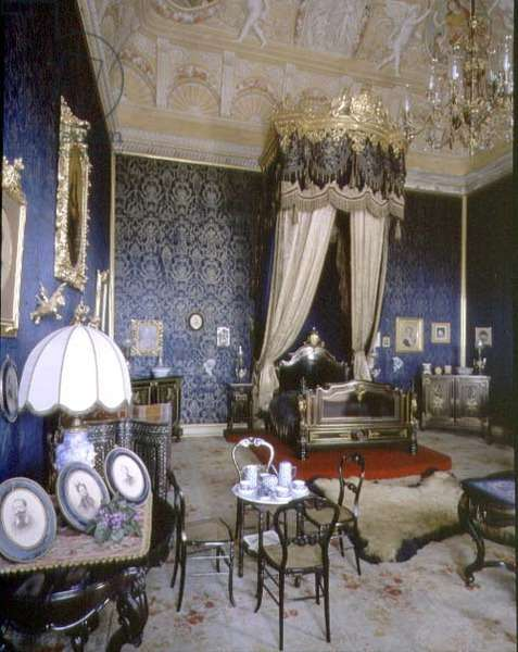The Blue Room, 19th century (photo)