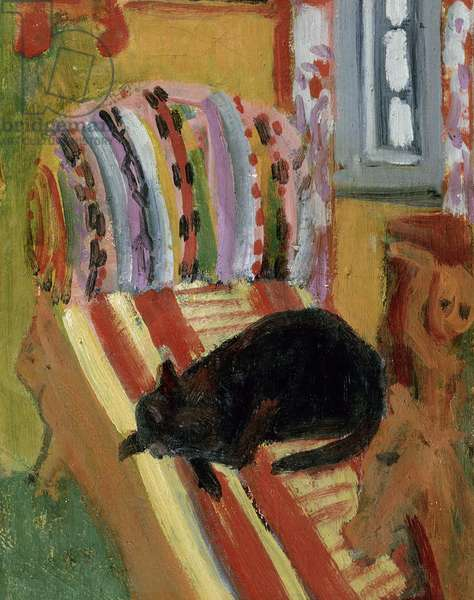 The Living Room, 1920 (oil on canvas) (detail of 148757)