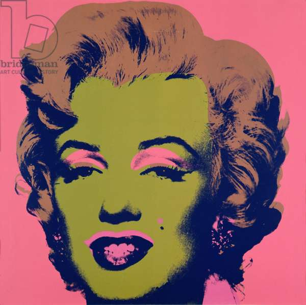 Marilyn, 1967 (screen print on paper) (see also 182836-182840, 182842-182845)