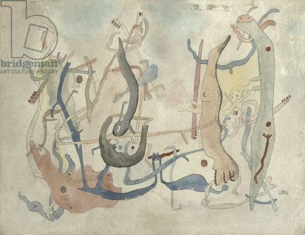 Imaginary Forms, c.1939/40 (pen, indian ink and watercolour on paper)