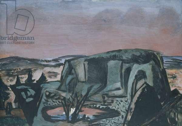 The Bog at Moosberg, 1934 (oil on canvas)