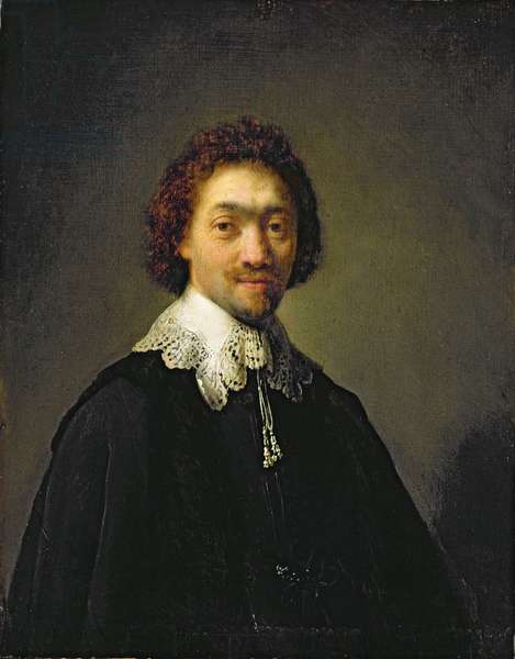 Portrait of Maurits Huygens, 1632 (oil on panel)