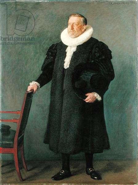 Town Mayor Max Predoehl, 1915 (oil on canvas)