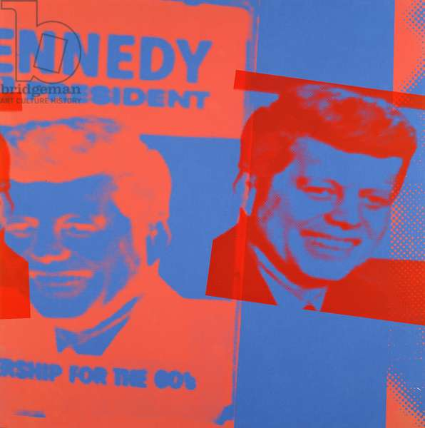 Kennedy for President, from Flash - November 22, 1963 (screenprint on paper) (see also 182851, 182853-182861)