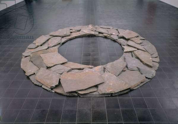 Slate Ring, 1985 (slate)