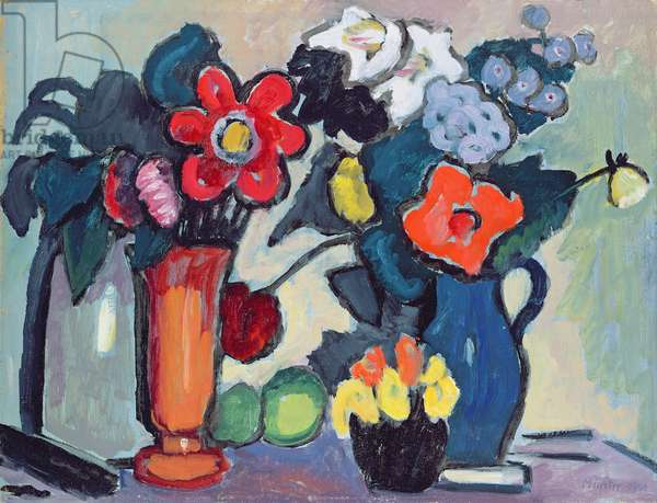 Flowers in the Night, 1941 (oil on card)