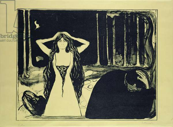 Ashes (After the Fall), 1899 (litho) (see also 54424)