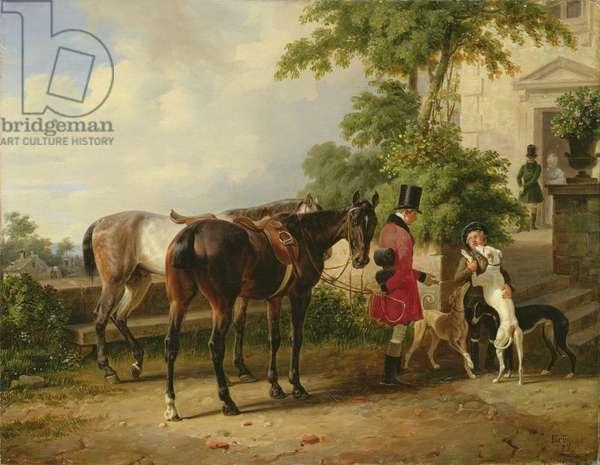 The Groom, 1836 (oil on canvas)