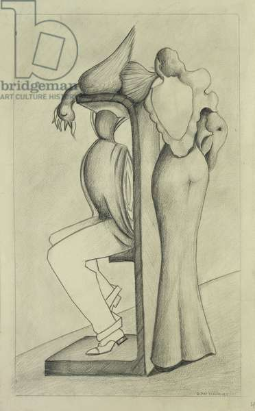 Untitled, 1934 (pencil on paper)