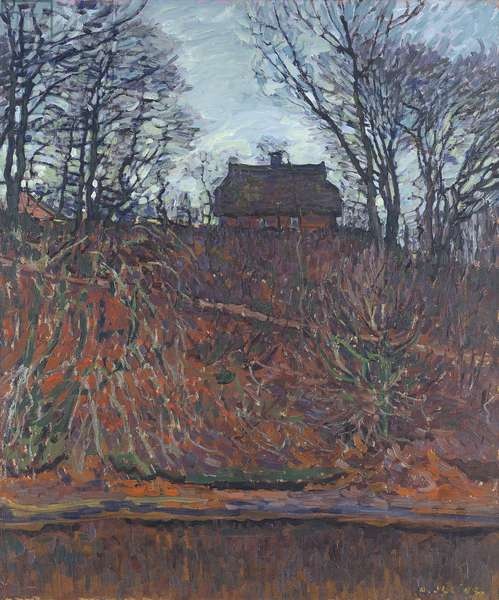 Lonely House, 1908 (oil on canvas)