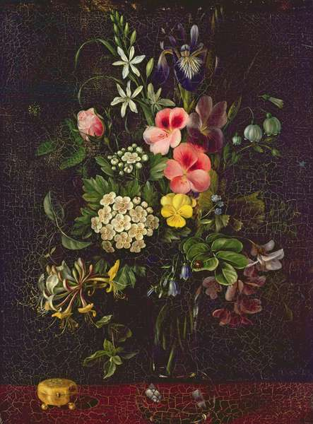 Vase of Flowers, 1775 (oil on canvas)