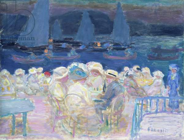 Evening Out Of Doors, 1913 (oil on canvas)