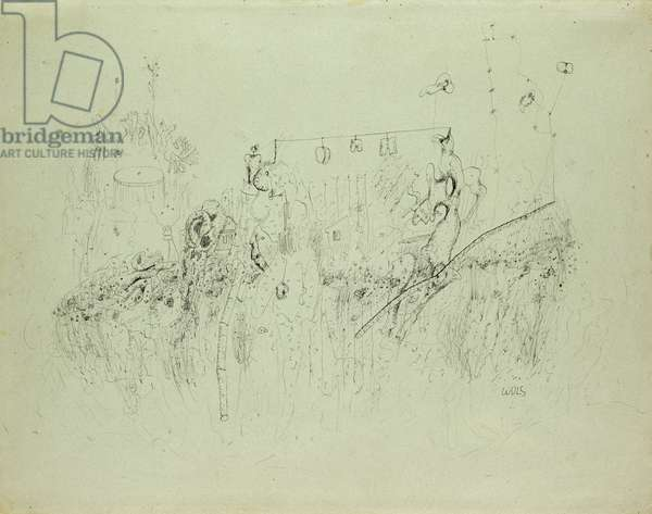 Untitled, c.1941-42 (Indian ink on paper)