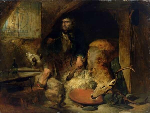 The Savage, c.1838 (oil on canvas laid on panel)