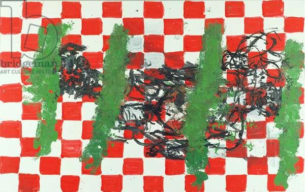 Picture-eleven, 1992 (oil on canvas)