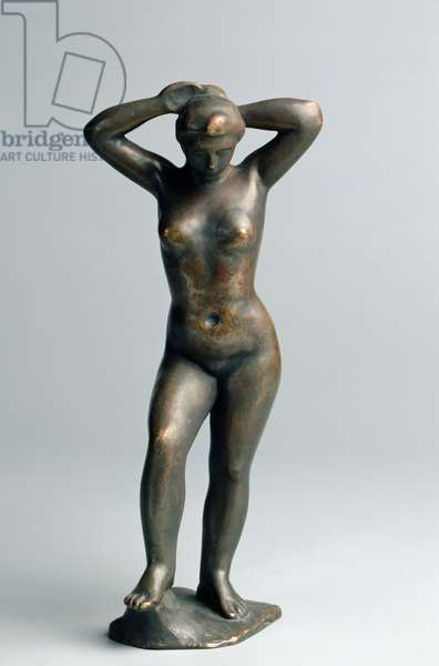 Bather, c.1898 (bronze)