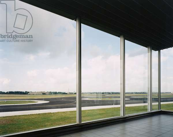 Schiphol, 1994 (numbered 5/5, colour photo)