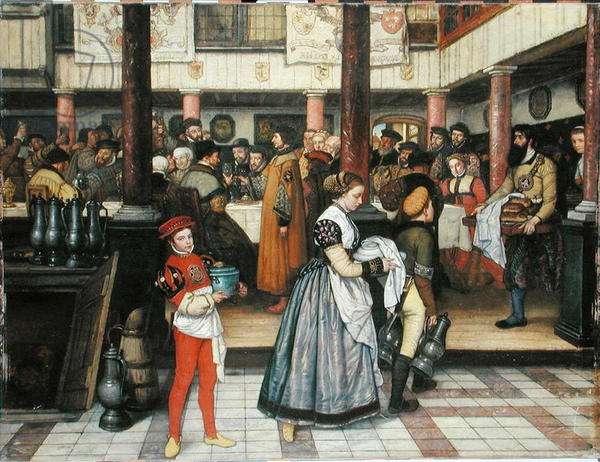 St. John's Festival, 1859 (oil on panel) (see also 234240)
