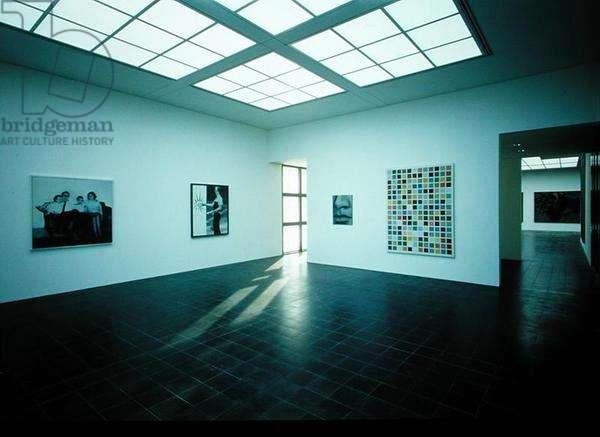 Gallery exhibiting works by Gerhard Richter (b.1932) (photo)