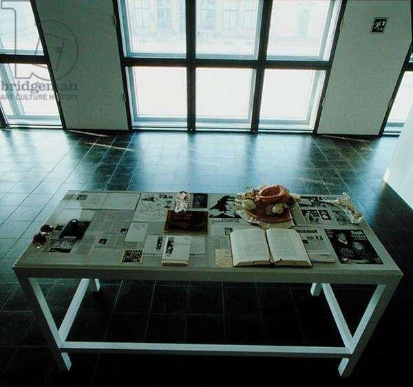 Table Installation (mixed media)