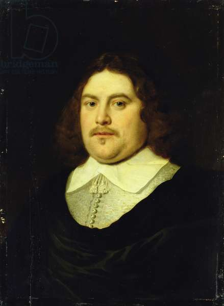 Portrait of a Gentleman, c.1650 (oil on panel)