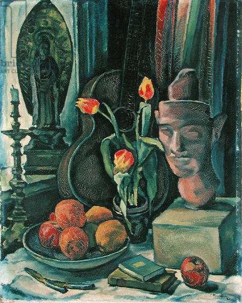 Still Life, 1921 (oil on card)