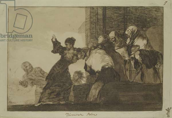Proverb 11 from the Follies Series, c.1815-24 (etching and aquatint on paper)