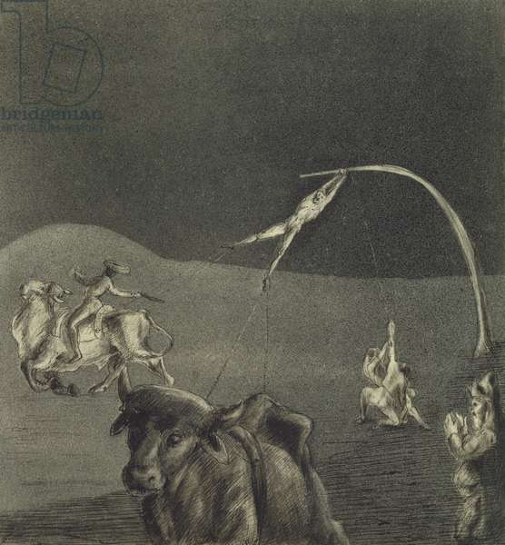 For Nothing! 1906 (indian ink on paper)