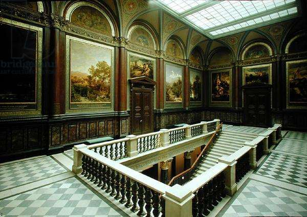 View of a gallery at the Kunsthalle (see also 183252-254, 183256-262) (photo)