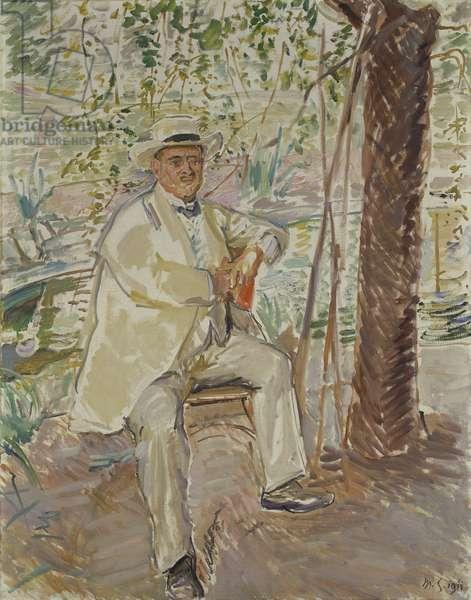 The Art Historian, Professor Dr. Karl Voll (1867-1917) 1911 (oil on canvas)