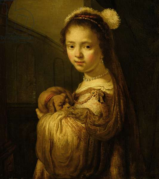 Picture of a Young Girl (oil on canvas)