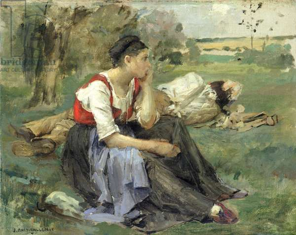 Resting Peasants, 1877 (oil on canvas)