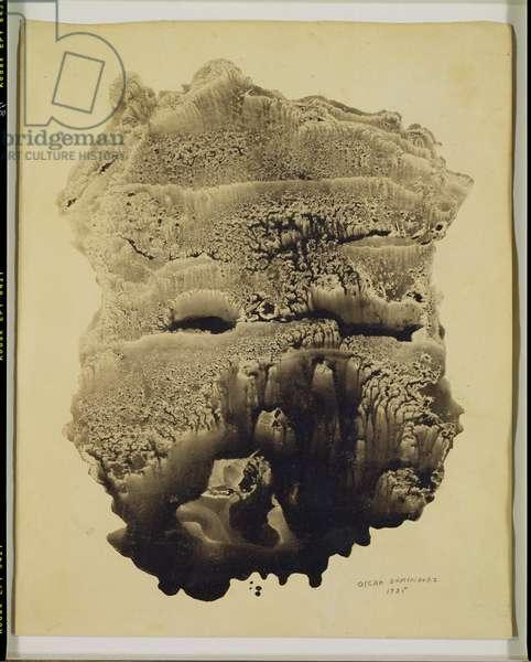 Decalcomania, 1935 (mixed media)