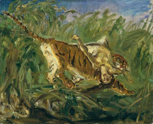Tiger in the Jungle, 1917 (oil on canvas)