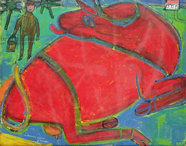Red Cow, 1943 (oil on canvas)