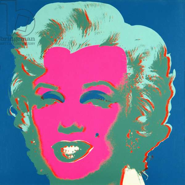 Marilyn, 1967 (screenprint on paper) (see also 182636, 182838-182845)