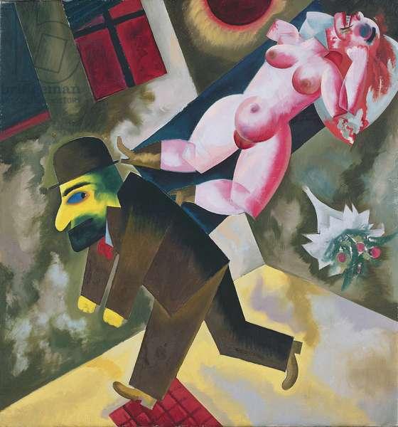 John the Murderer, 1918 (oil on canvas)
