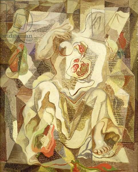 Femme (Woman), 1925 (oil on canvas)