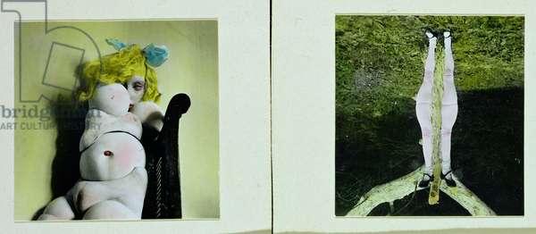 La Poupee. Seconde Partie (The Doll. Part II), 1936 (hand tinted photo)