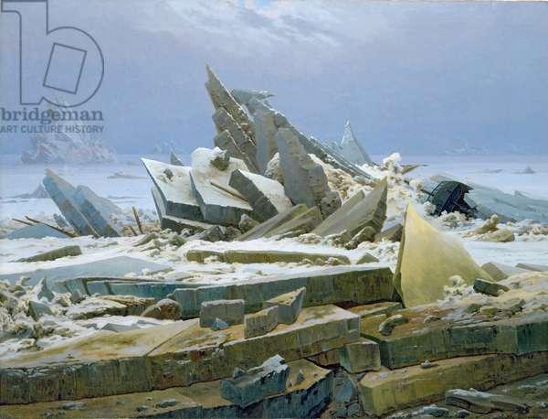 The Polar Sea, 1824 (oil on canvas)