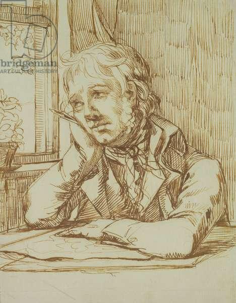 Self Portrait (pencil and pen on paper)