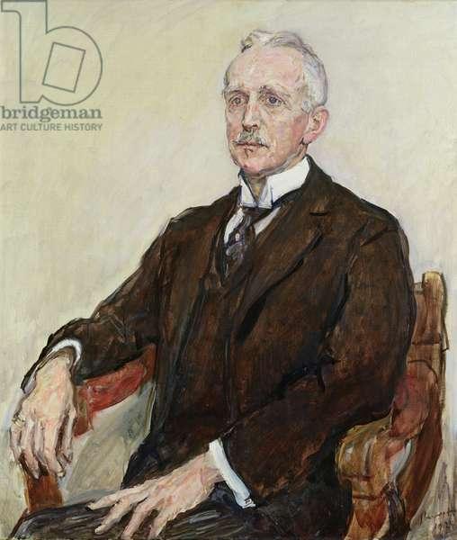 Gustav Pauli (1866-1938) 1924 (oil on canvas)