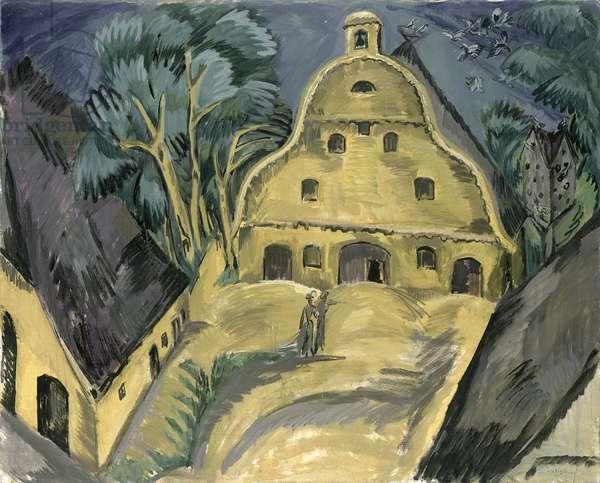 Staberhof Farm on Fehmarn I, 1913 (oil on canvas)