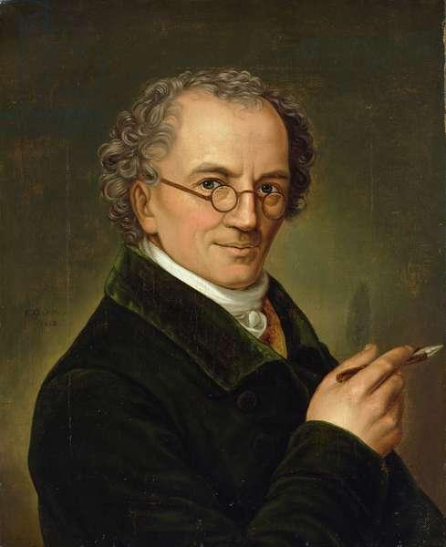 The Artist Friedrich Carl Groger (1766-1838) 1828 (oil on canvas)
