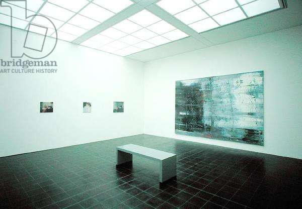 Gallery exhibiting works by Gerhard Richter (b.1932) (photo) (see also 182887)