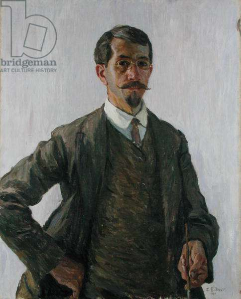Self Portrait, 1911 (oil on canvas)